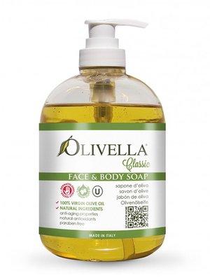 Мыло жидкое для лица и тела на основе оливкового масла (500 мл) | 4210735