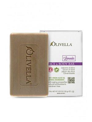 Мыло для лица и тела «Лаванда» на основе оливкового масла (150 г) | 4210737