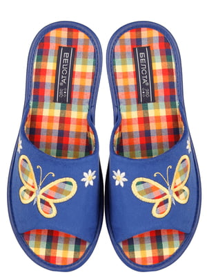 Тапочки сині | 4209639