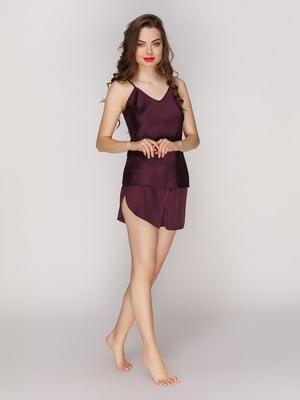 Шорти фіолетові піжамні | 4201173