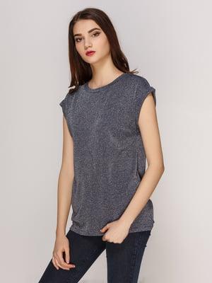 Блуза темно-серая | 4208737