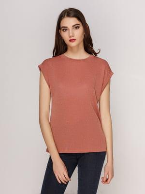 Блуза кольору пудри | 4208738