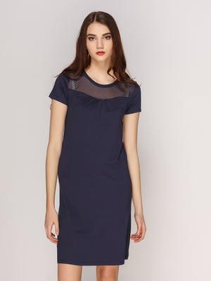 Платье темно-синее   4208707