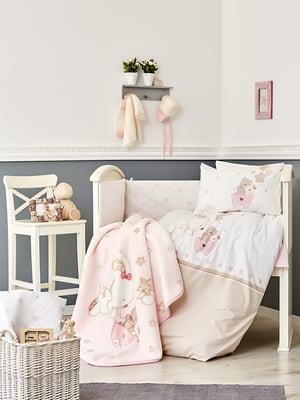 Плед детский в кроватку (100х120 см) | 4198390