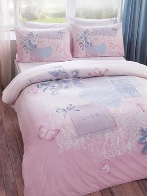 Комплект постельного белья двуспальный (евро) | 4203571