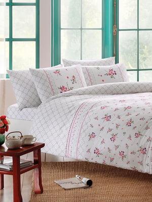 Комплект постельного белья двуспальный (евро) | 4203586