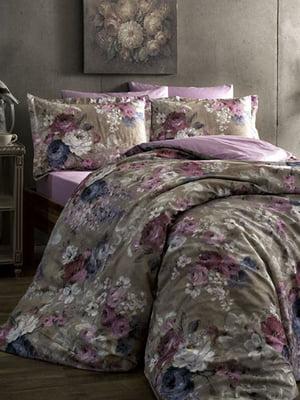 Комплект постельного белья двуспальный (евро) | 4203612