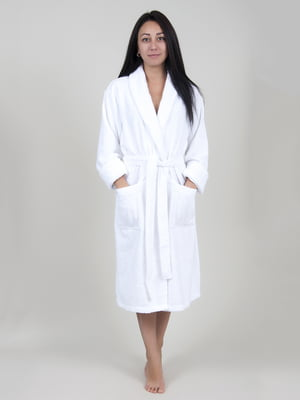 Халат білий | 4203640