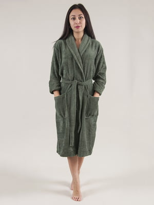 Халат зеленый | 4203644