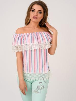 Блуза в полоску | 4184431