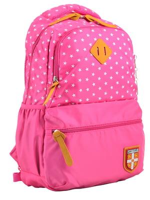 Рюкзак розовый в горошек | 4214874