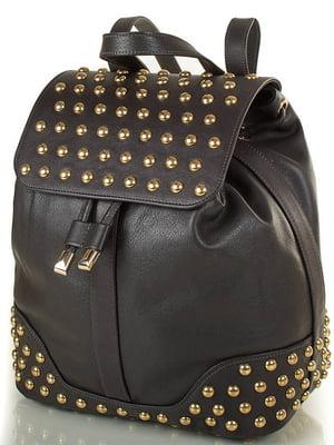 Рюкзак темно-коричневий | 4033276
