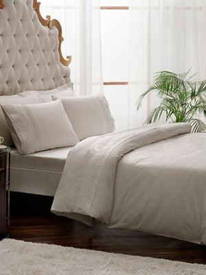 Комплект постільної білизни двоспальний (євро) | 4203556