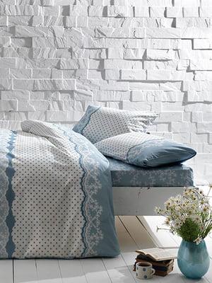 Комплект постільної білизни двоспальний (євро) | 4203584