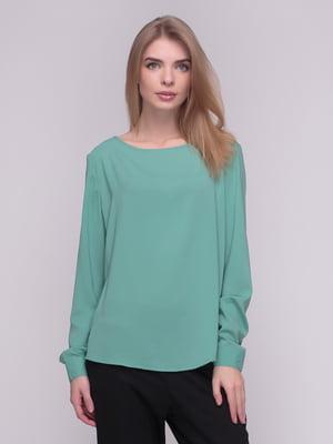 Блуза мятного цвета | 4210299
