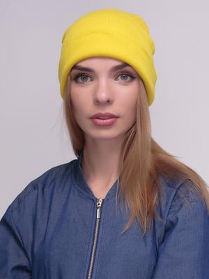 Шапка жовта | 4210344