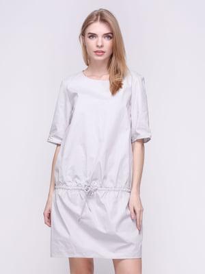 Платье серое | 3457360