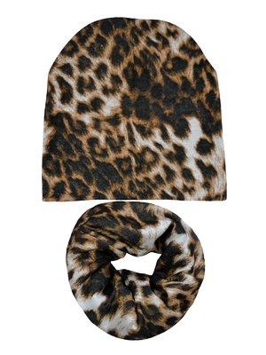 Комплект: шапка и шарф-снуд   4217325