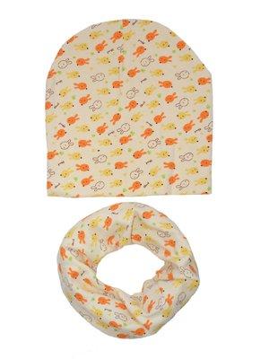 Комплект: шапка и шарф-снуд   4217326