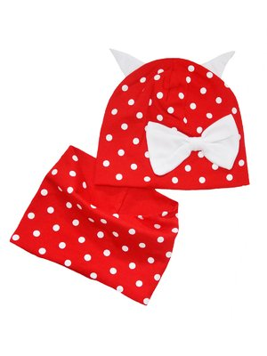 Комплект: шапка и шарф-снуд   4217327