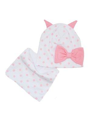 Комплект: шапка и шарф-снуд   4217328