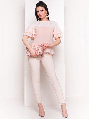 Блуза цвета пудры   4217935