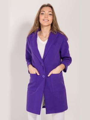 Пальто фиолетовое | 4217545