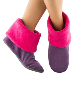 Тапочки фіолетові | 4127022