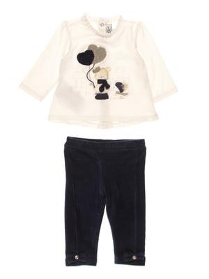 Комплект: блуза и леггенсы | 3781434