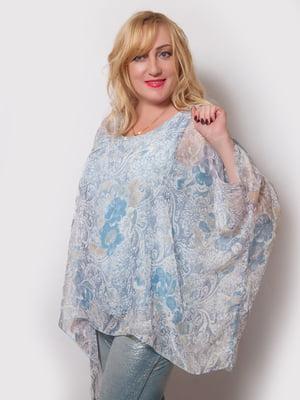 Блуза в квітковий принт | 4220183