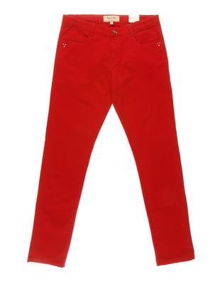 Брюки красные | 3835564