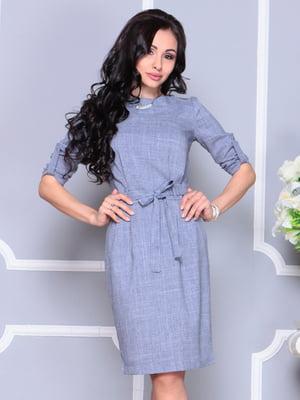 Сукня кольору фіолетового серпанку | 4222455