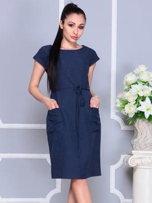 Сукня темно-синя | 4222508