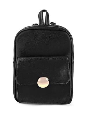 Сумка-рюкзак черная | 4223128