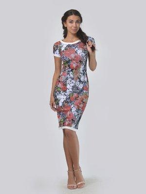 Платье в цветочный принт | 4151939