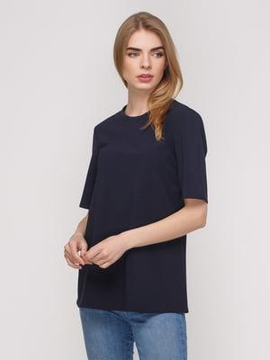 Блуза синяя | 2750245