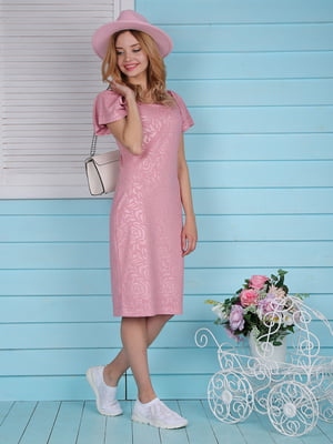 Платье розовое | 4229536