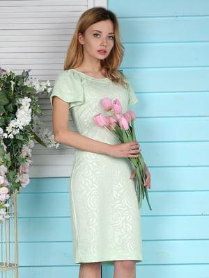 Платье салатовое | 4229538