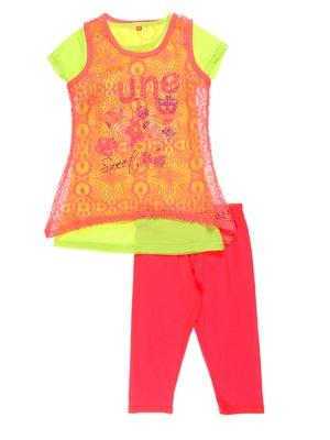 Комплект: майка, футболка і штани | 4220788