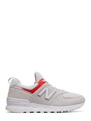 Кроссовки серые New Balance 574 Sport | 4042571