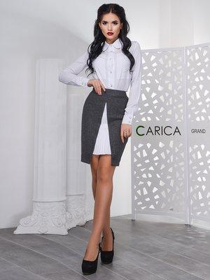 Спідниця темно-сіра - CARICA - 4231243