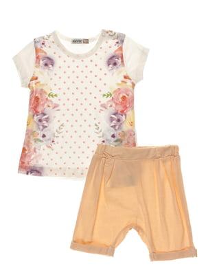 Комплект: футболка и шорты | 4220725
