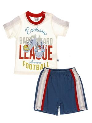 Комплект: футболка і шорти | 4220688