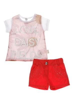 Комплект: футболка и шорты | 4220702