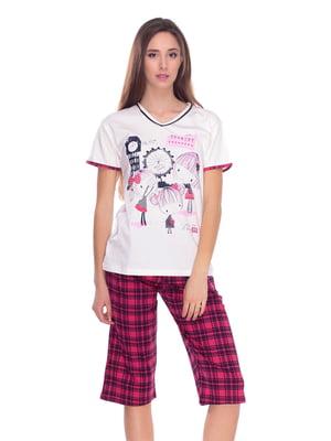 Піжама: футболка і бриджі | 4219718