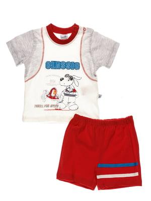 Комплект: футболка і шорти | 4220692