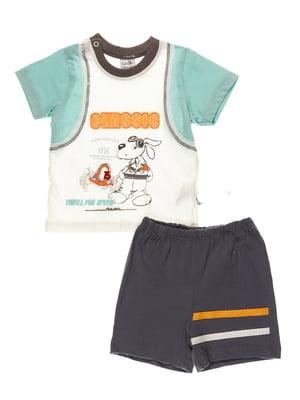 Комплект: футболка і шорти | 4220693