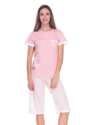 Піжама: футболка і капрі   4219715