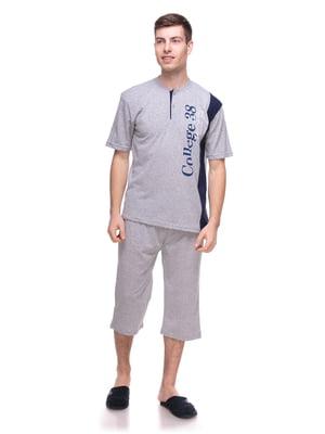 Пижама: футболка и бриджи | 4219721