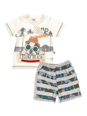 Комплект: футболка і шорти | 4220676